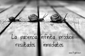 la paciencia